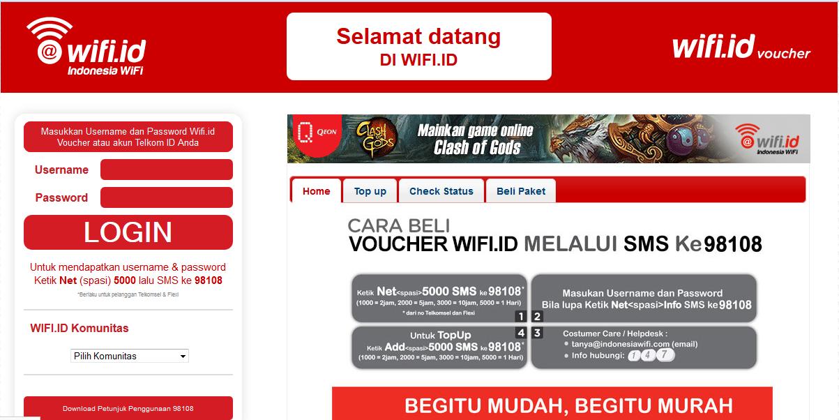 Ampuh!!! Trik Gratis Terbaru Menggunakan Wifi.id Mudah dan Cepat