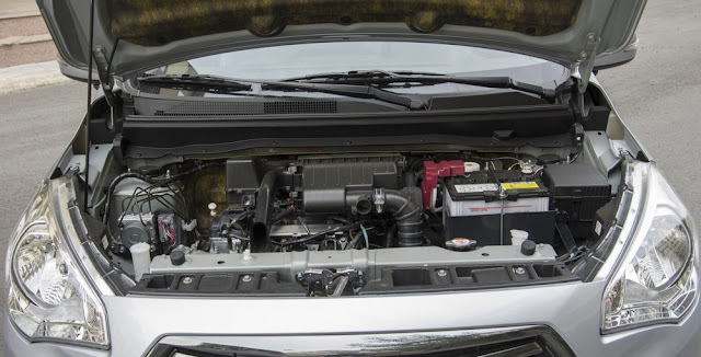 Động cơ MIVEC trên xe Mitsubishi Attrage