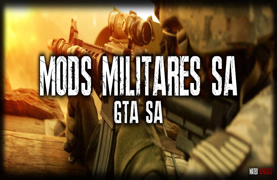 Mods Militares para GTA San Andreas