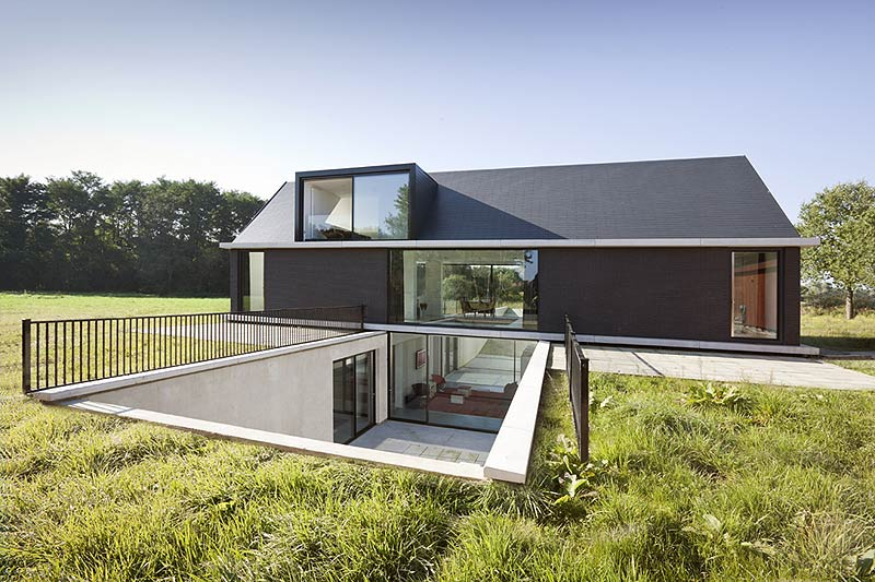 Villa geldrop de hofman dujardin architects for Hofman dujardin architects