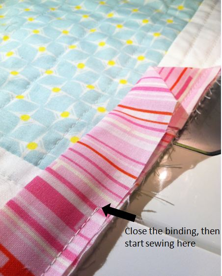 Binding & Blind Stitching Tutorial | Quilting in the Rain : binding a quilt for beginners - Adamdwight.com