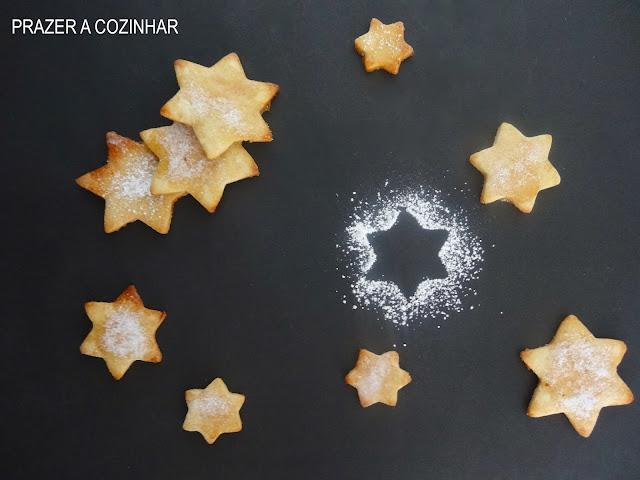 prazer a cozinhar - Bolachas de limão e canela