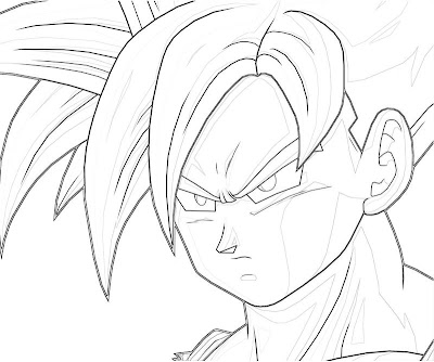 Gohan Coloring Pages