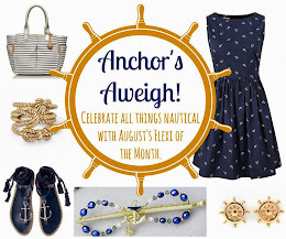 Snazzy Nautical Theme for Lilla Rose August Flexi of the Month