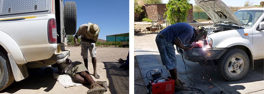 Ynas Reise Blog | Reparaturarbeiten an unserem Camper