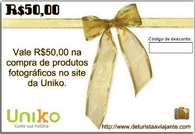Cupom de desconto na Uniko