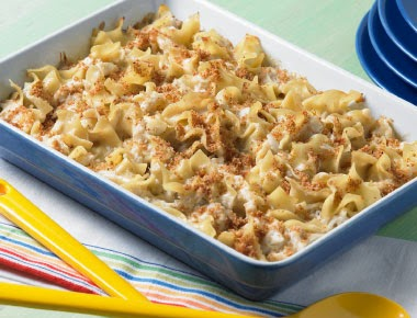 Chesapeake Bay Crab & Noodle Bake