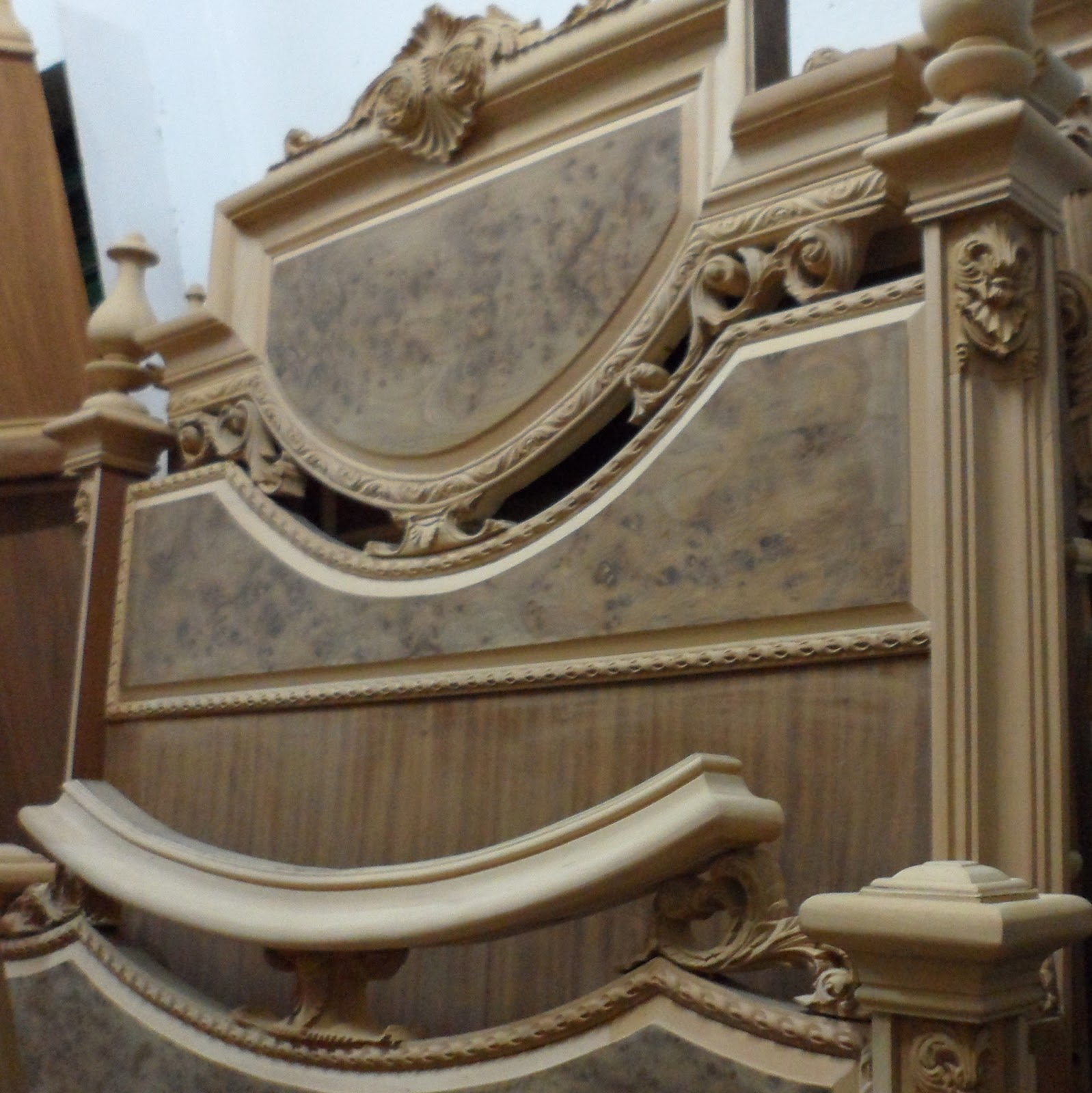 غرف نوم خشب ابيض   egyptian furniture