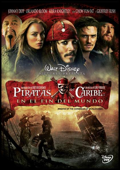 Pirates of the Caribbean: At world´s end (Piratas del Caribe 3: En el fin del mundo) (2007) Español Latino