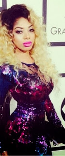 Pictures | Dencia Mistaken For Nicki @ The Grammys.