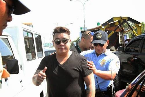 Vandolf Quizon unhurt in Car Accident but 1 injured