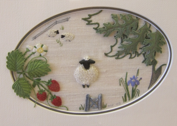 Judy Cooper Textile Images Stumpwork Embroidery Workshop With