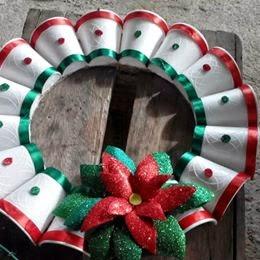 Manualidades para ni os manualidades y reciclajes una for Manualidades para diciembre