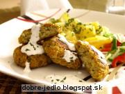 Zeleninové bochníčky s chrenovým dressingom - recept