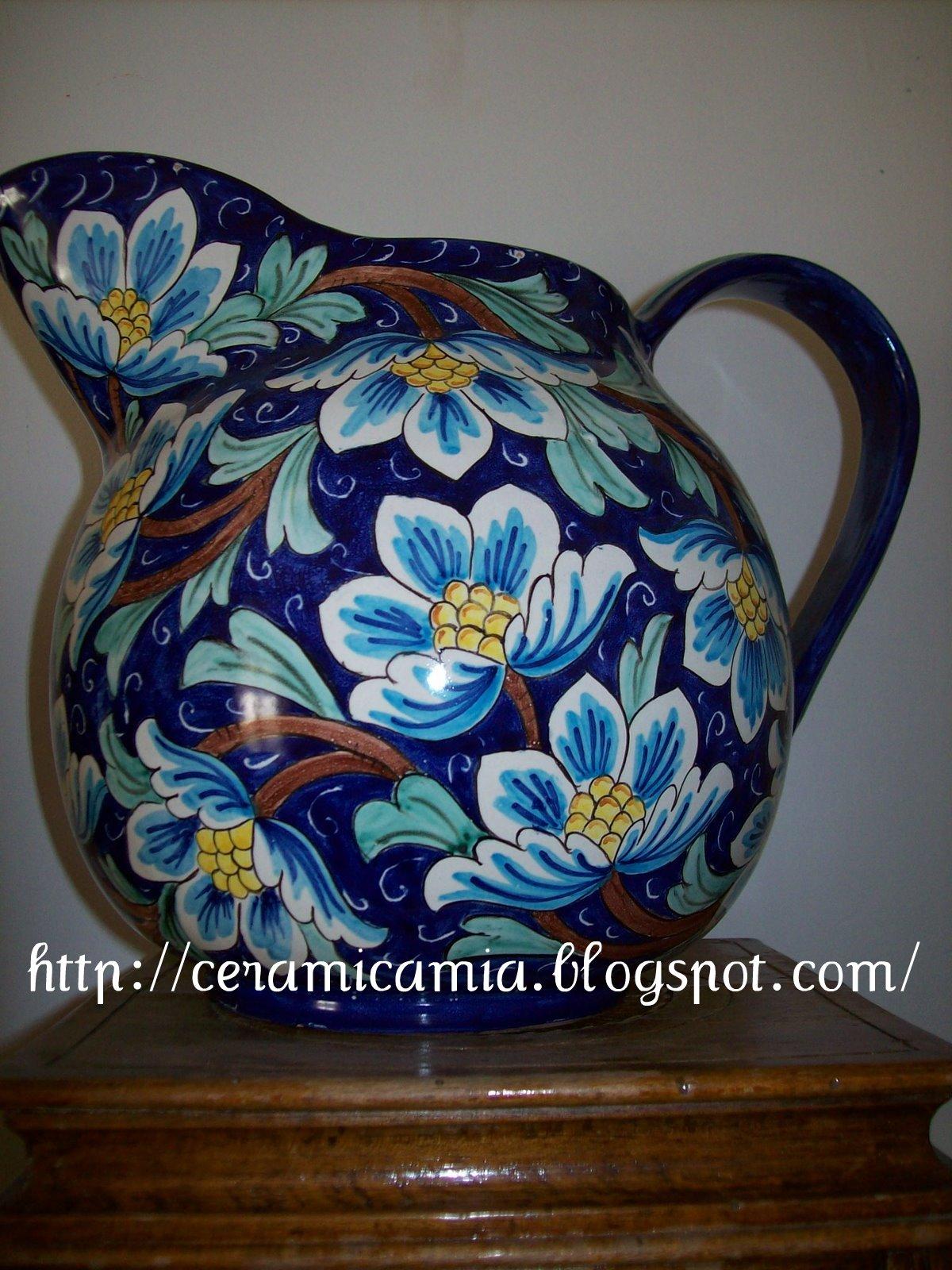 Ceramica che passione collezzioni ceramiche decorazione for Decorazione ceramica