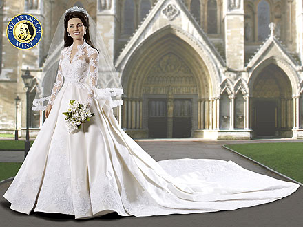 Kate Middleton doll from Franklin Mint
