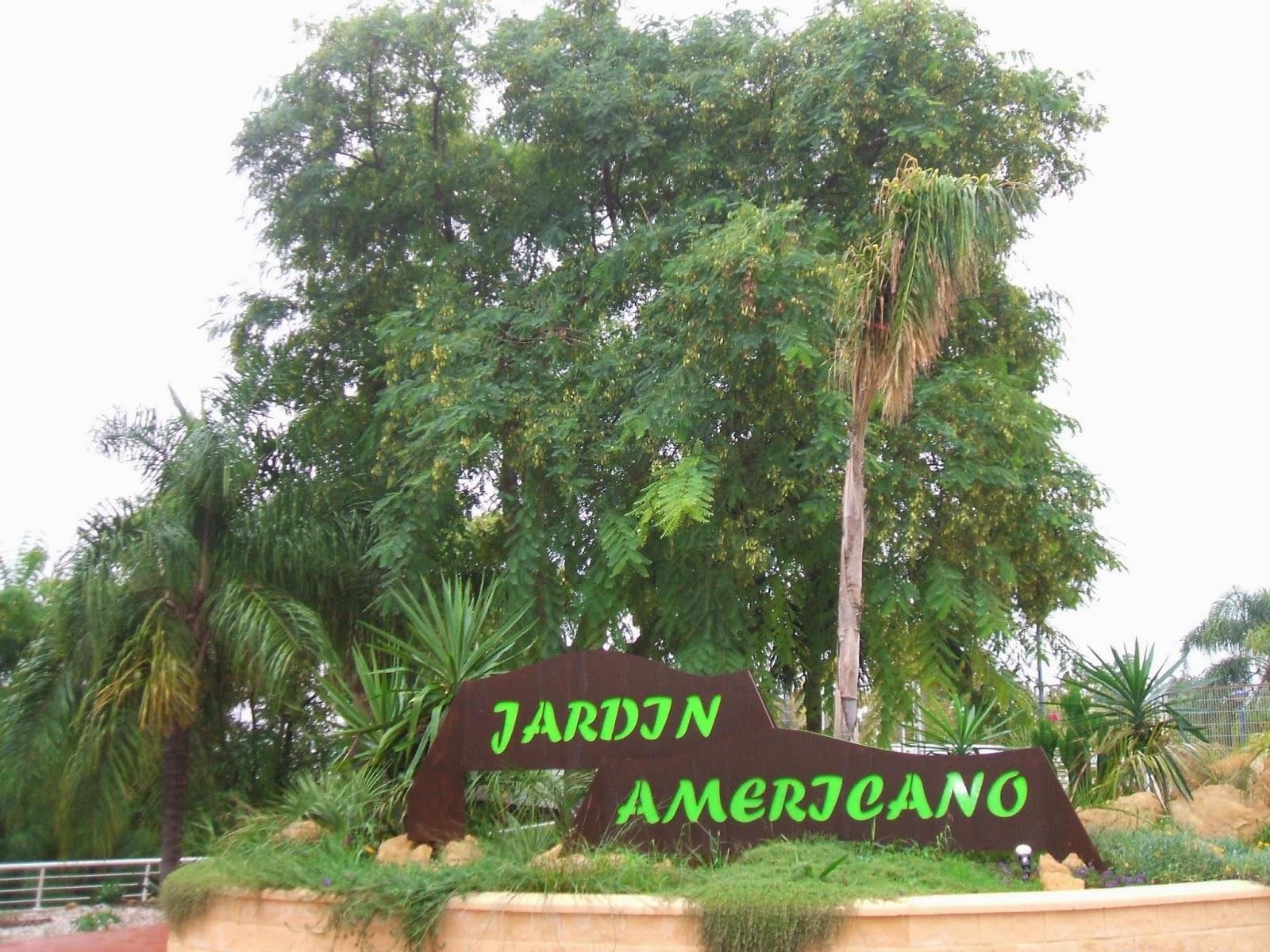 Gel n noticias la plataforma por los parques los for Jardin americano sevilla