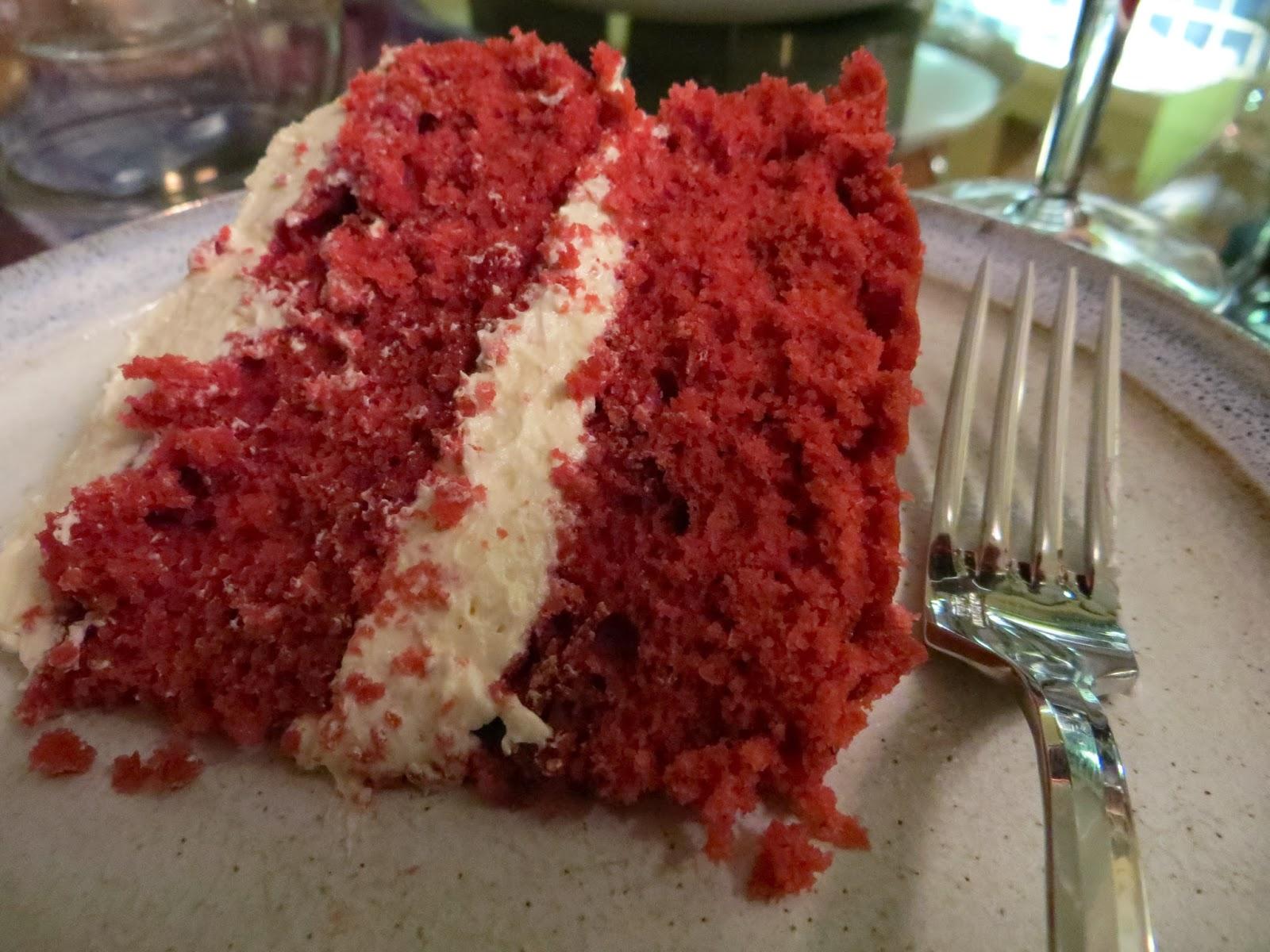 Good food and red shoes: Red Velvet Cake