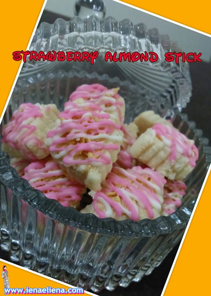 Homemade Strawbery Almond Stick