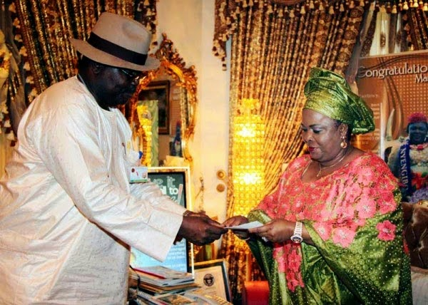 Photos: Patience Jonathan Gets Her National Identity Card in Abuja 1
