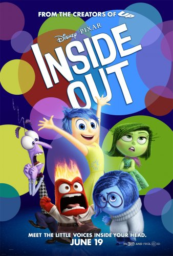 Inside Out (BRRip 1080p Dual Latino / Ingles) (2015)