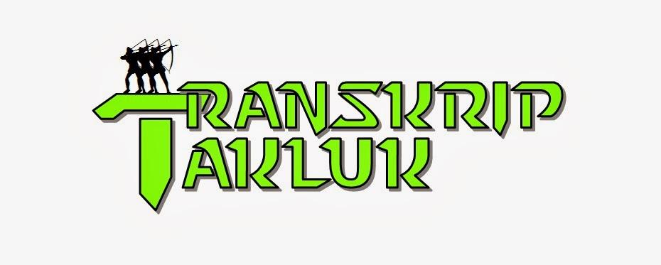Transkrip Takluk