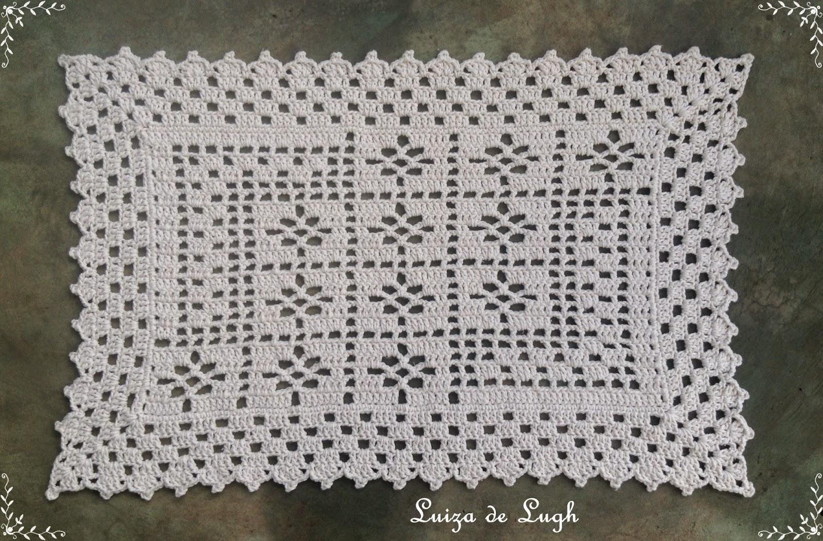 Oval de croche tapete oval de croche tapete oval de croche for Tapetes de crochet