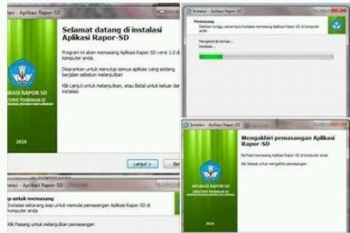 Download Gratis Aplikasi Rapor K-13 SD