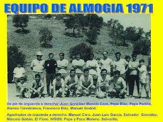 ALMOGIA  Y EL FÚTBOL , LA HISTORIA