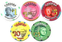 Caesars Atlantic City chips