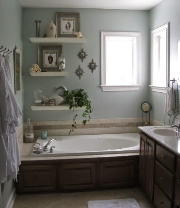 Juegos De Organizar Baños:una bañera en el cuarto de baño nos permite situar los objetos de