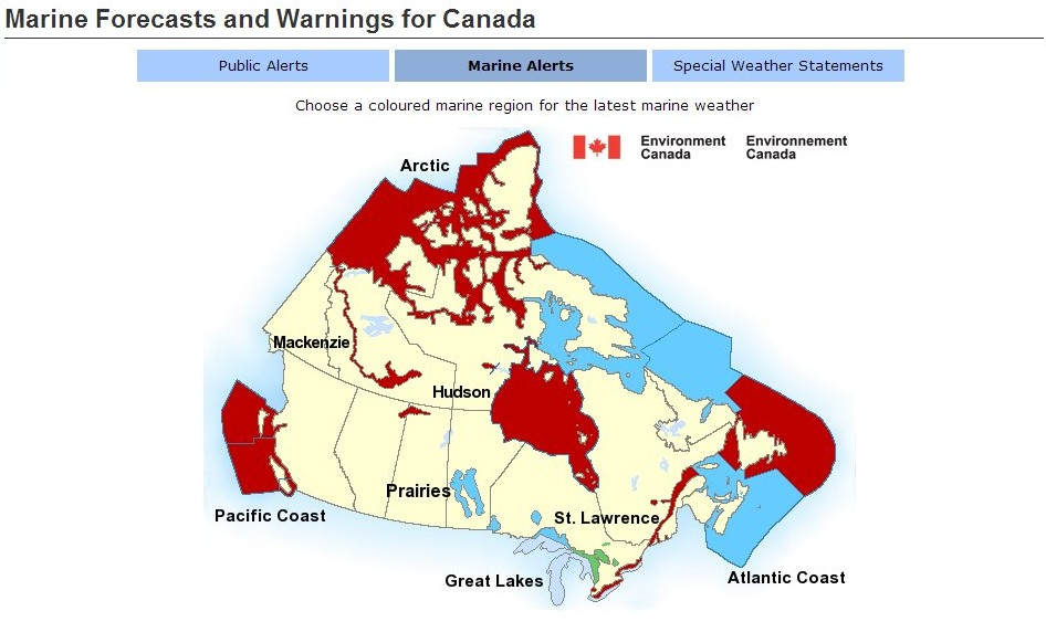 Which Displays A Graphic Map Wow The Arctic Is Under A Big Red Warning