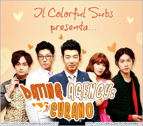 Cyrano / flower boy dating agency / 2013