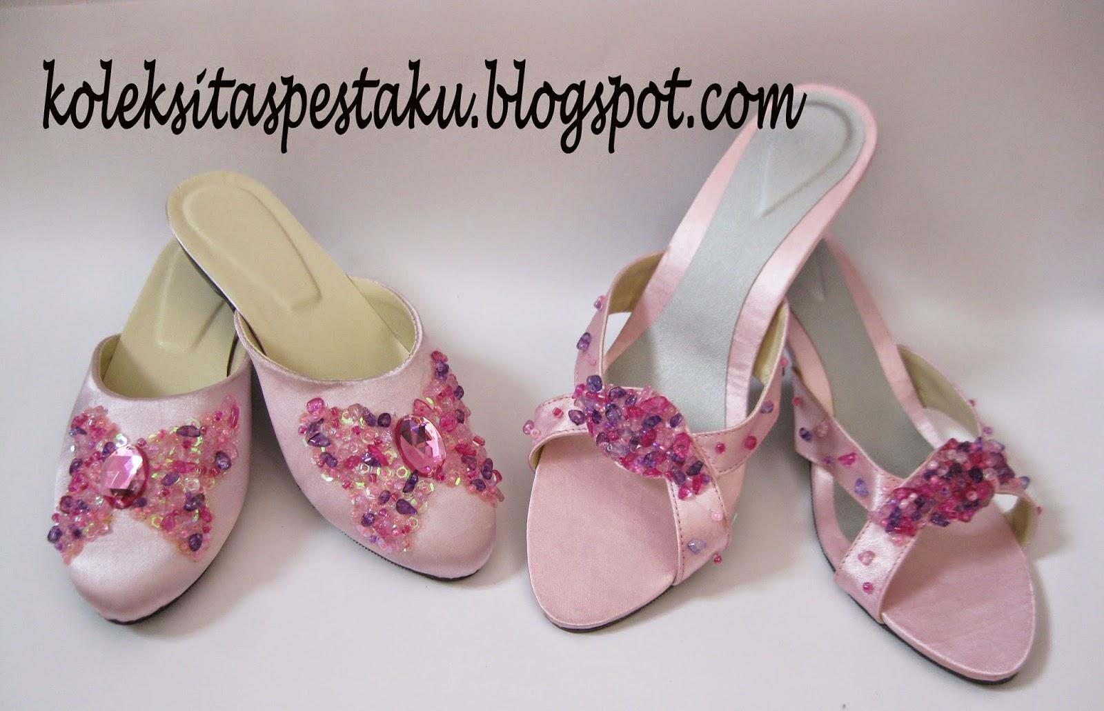 Pesanan Customer Slop Pesta Mama dan Anaknya Pink Baby Cantik