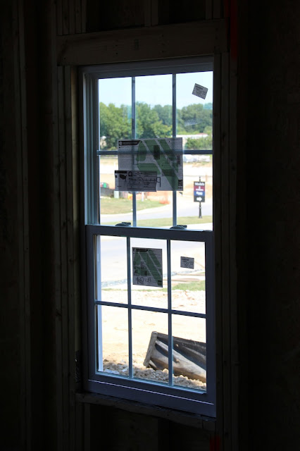 Ryan Homes window installation