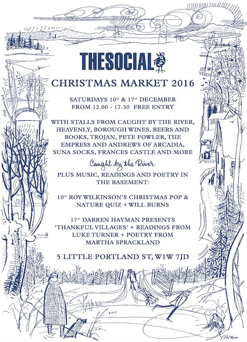 Stalling Out at The Social Christmas Market on Sat. 17th December