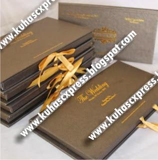 Undangan Hardcover Mewah dengan Glory Paper