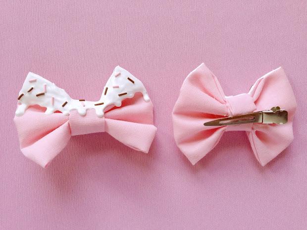 alexa's style bow kuma handmade
