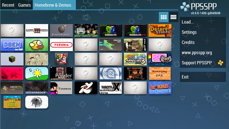 PPSSPP Gold - PSP emulator v1.0.1.0