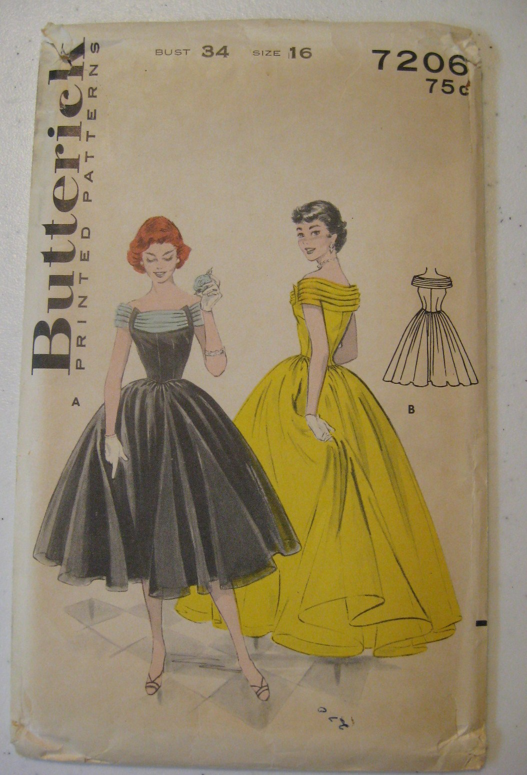 Vintage 1950s Ball Gowns