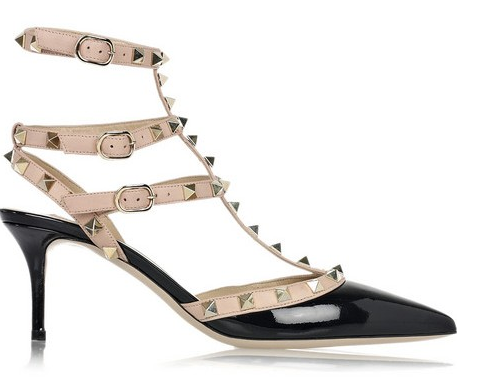 shoe daydreams very valentino  valentino rockstud kitten