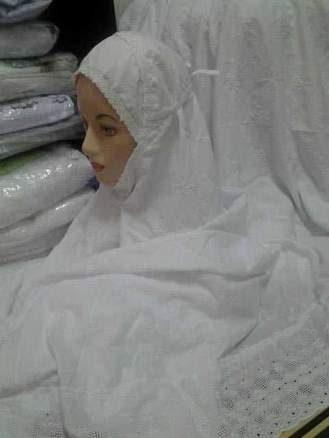 Telekung Cotton Jepun Lagi Stock Telekung Cotton