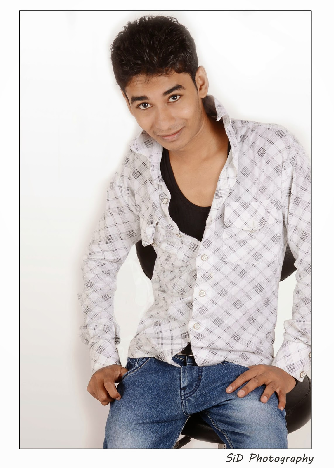 Shahzad Hussain Model  Indian Male Model Shahzad Hussain Indian