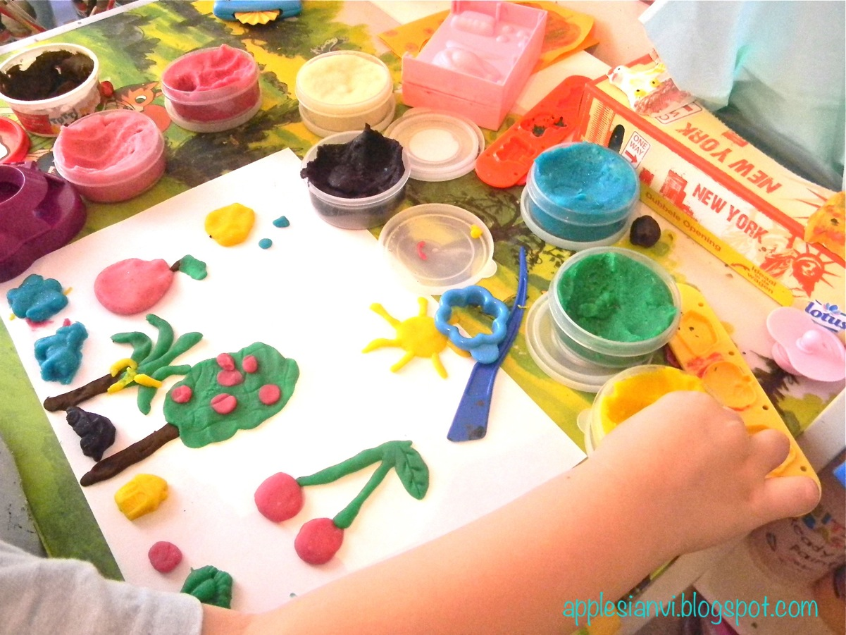 Детский пластилин своими руками фото