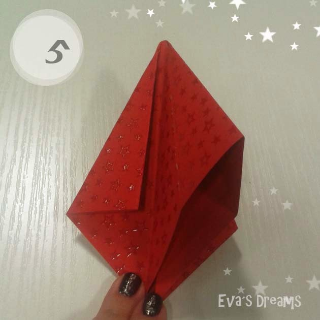 DIY: Origami Tannbaum 2.0 - Step5