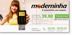 Maquininha Moderninha PagSeguro