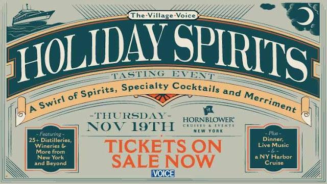 Village Voice Holiday Spirits Cocktail Cruise