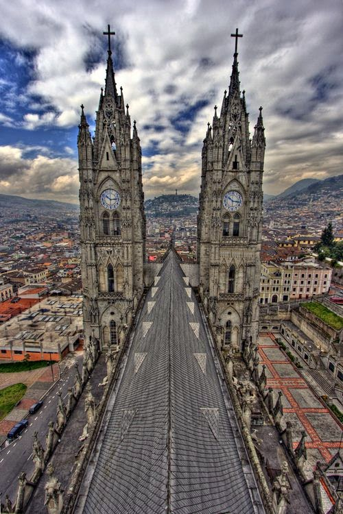 The Basilica of the National Vow, Quito, Ecuador
