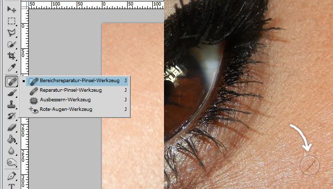 tutorial photoshop retusche info beauty palmira. Black Bedroom Furniture Sets. Home Design Ideas