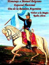 Especial Nacional Dia de la Bandera Argentina-Homenaje a Manuel Belgrano
